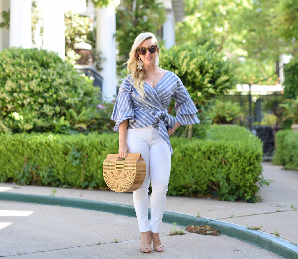 Tiered Ruffled Sleeve Blouse | The Darling Petite Diva