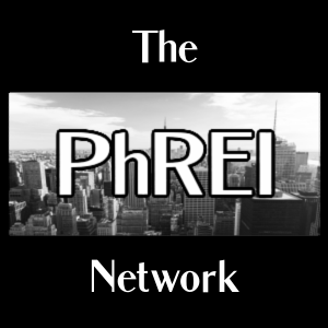 The PhREI Network logo.  The Physician Real Estate Investor Network.