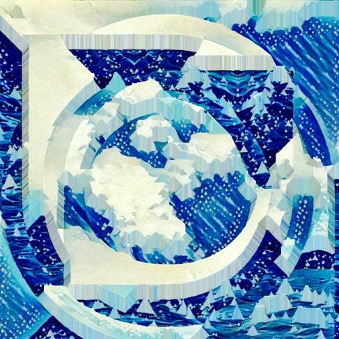 Whitecaps Photo Print, 10X10, Kodak Endura Silk