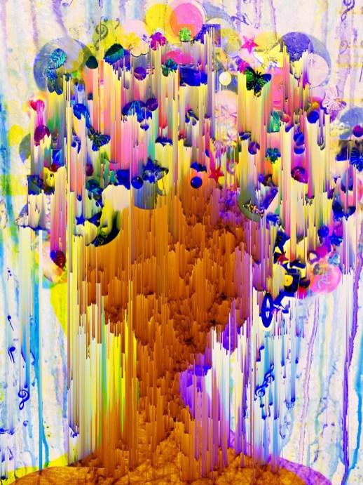"Purple Rain 20""x16"" limited edition matte aluminum print (1/5)"