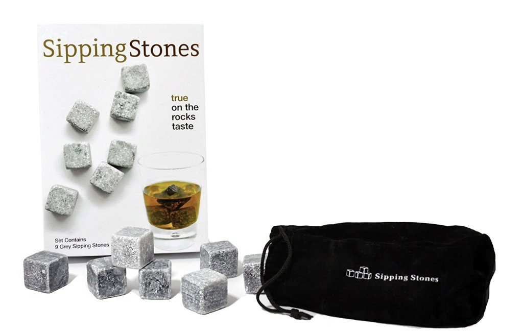 gifts for drinkers -whiskey stones -- alcohol gifts from @thedashanddine