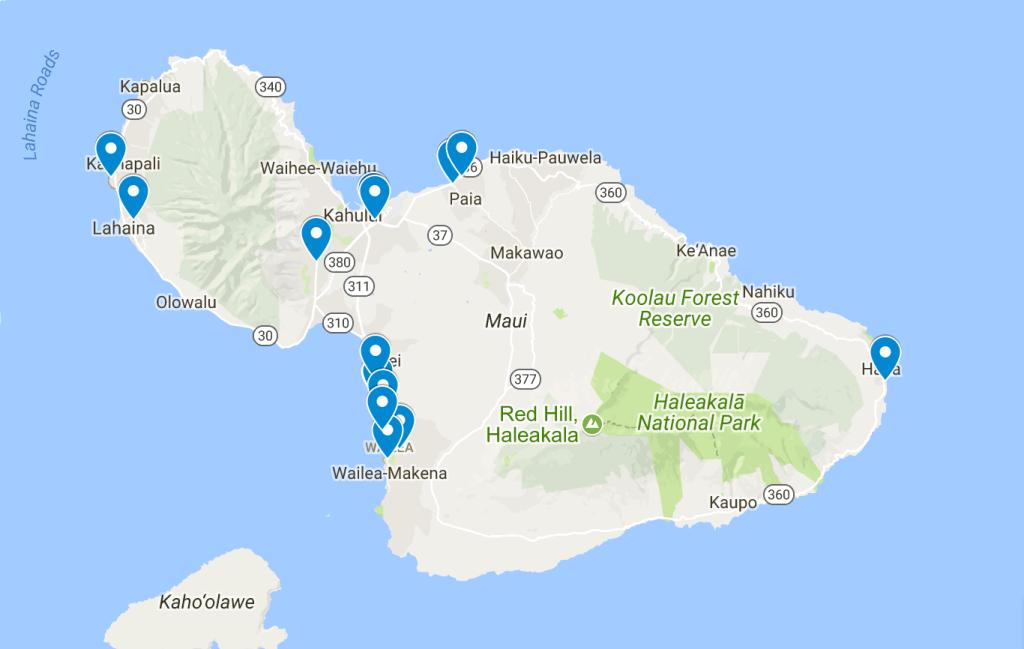 my favorite Maui restaurants