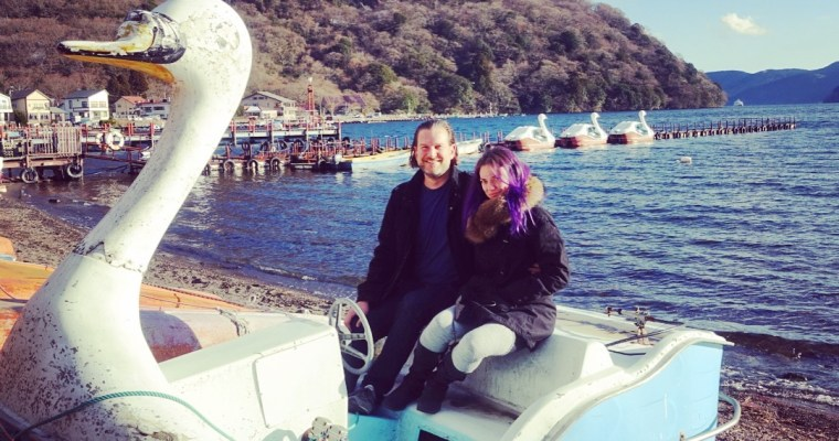 Snow, swan boats and sulfur: Our quick trip to Hakone