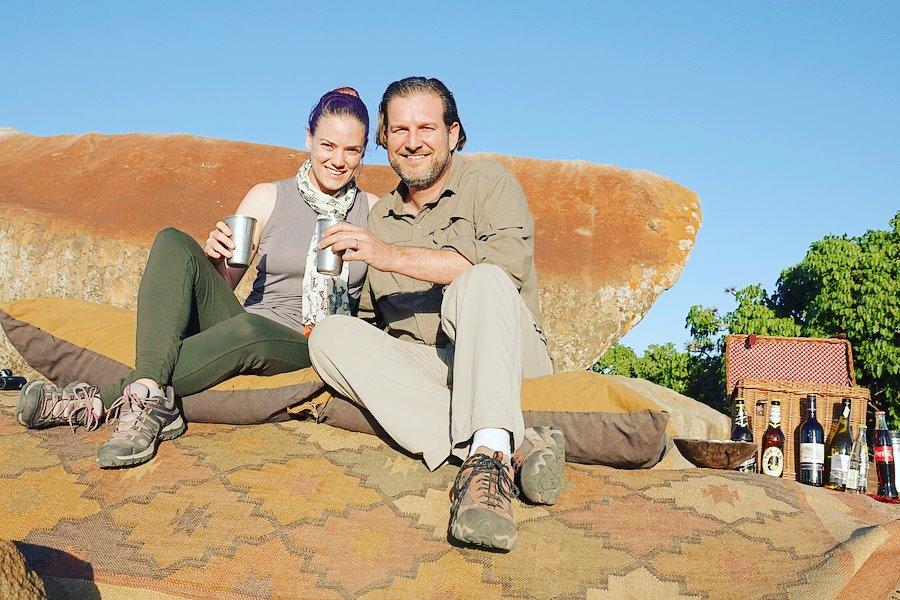 the sundowner -- Our top 10 favorite safari honeymoon moments