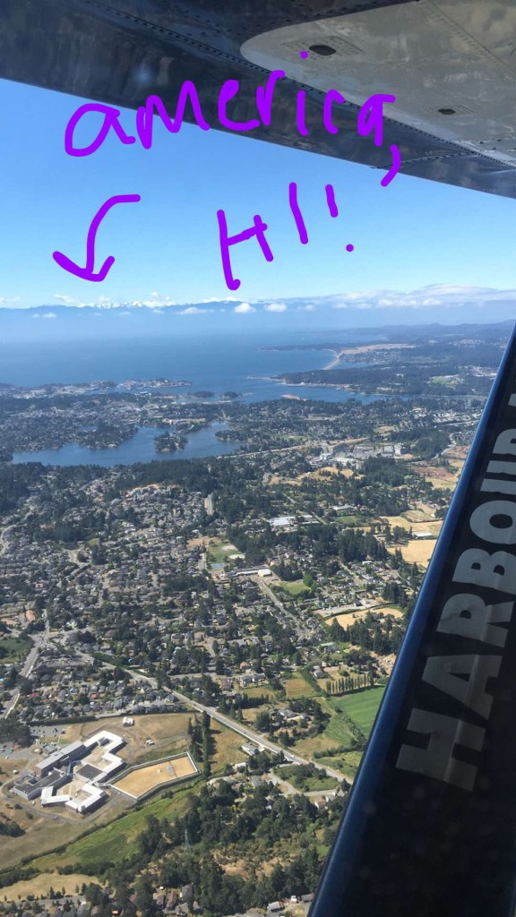 traveling in a seaplane vancouver - @thedashanddine