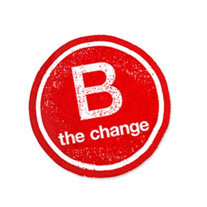 B the change logo