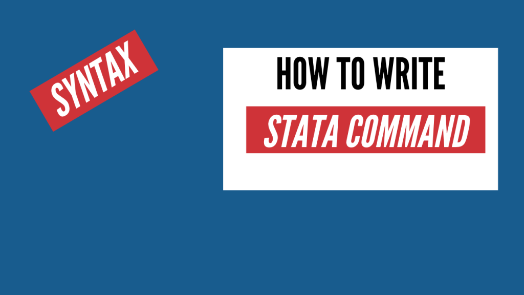stata command syntax