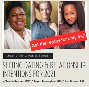 Get the Setting Dating & Relationship Intentions for 2021 Replay
