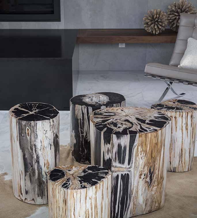 Custom Petrified Wood Tables In Solana Beach CA Amp San Diego The David Alan Collection