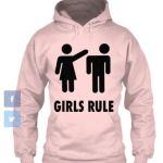 Girls Rule_Hoodie_pink