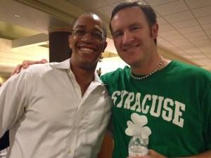 Devon Brown and Dave Gardner at Marketing Mayhem