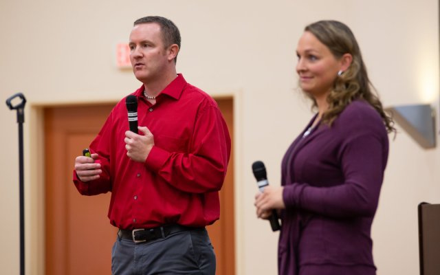 Now Lifestyle National Event Speakers Dave Gardner and Danielle Ackerman