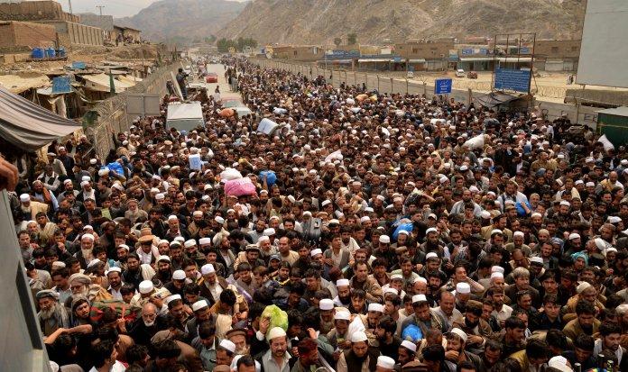 Pakistan open borders with Afghanistan