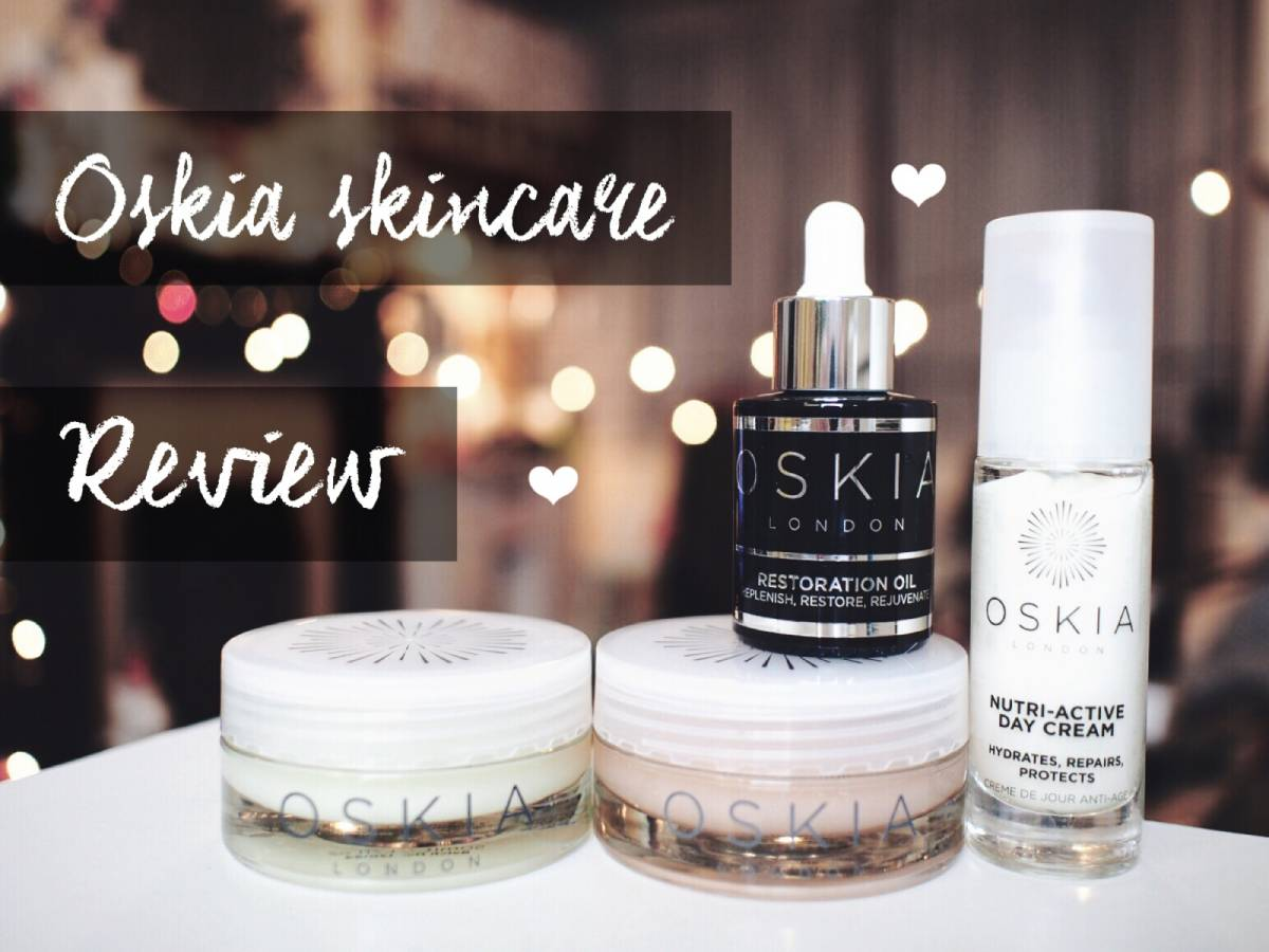 Oskia skincare review