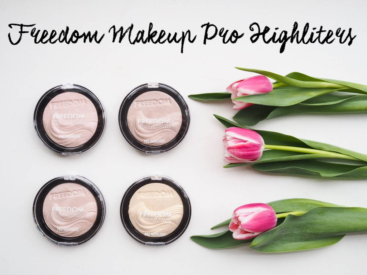 Review | Freedom Makeup Pro Highlighters