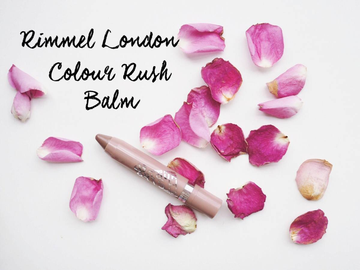 The nicest nude | Rimmel Colour Rush Balm