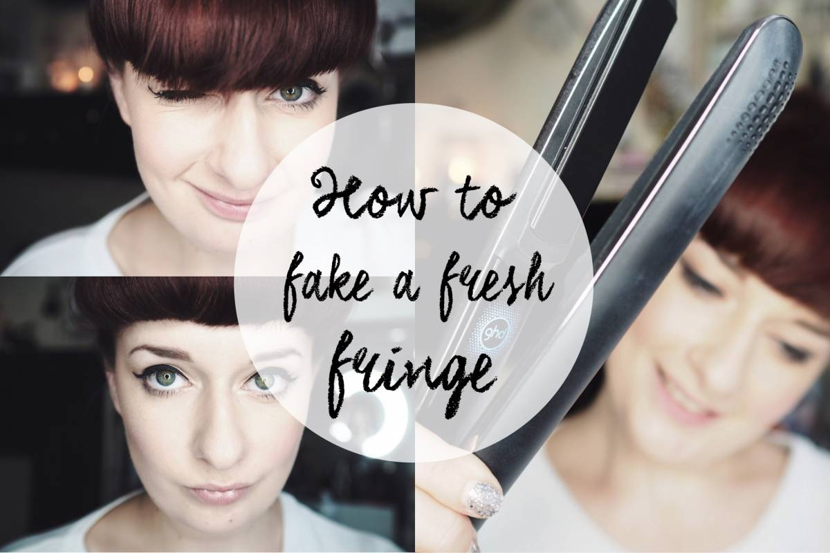 How to: fake a fresh fringe