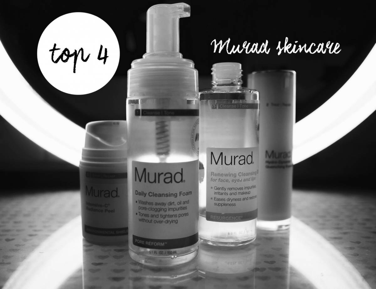Top 4 Murad skincare | hitting pan!