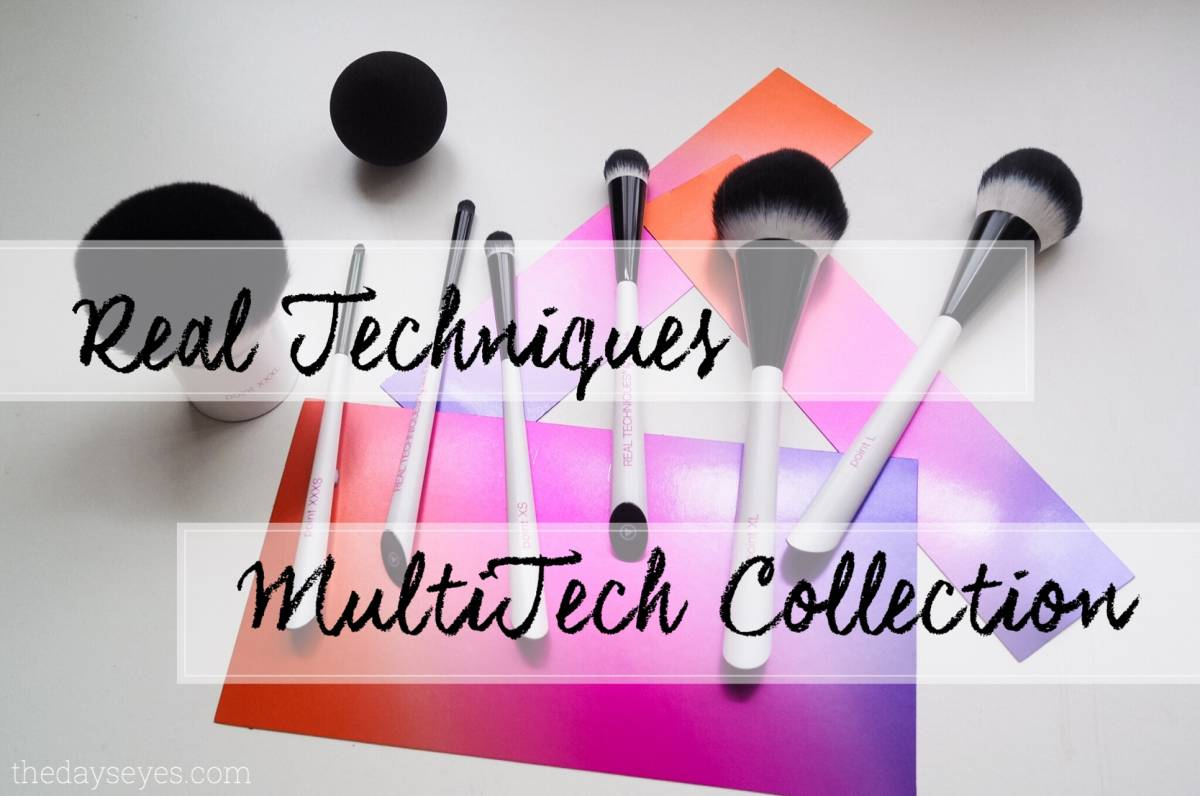 Real Techniques MultiTech Brush Collection | review
