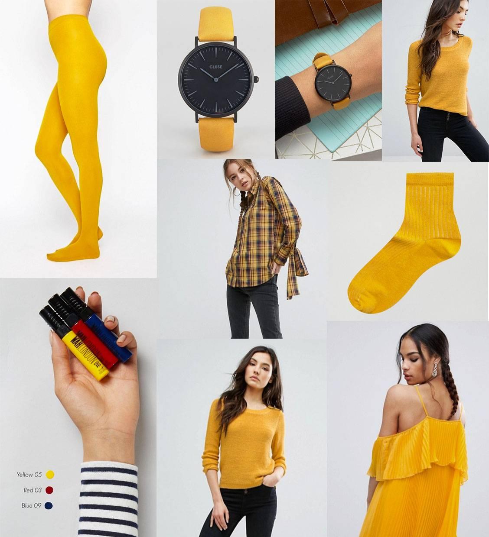 ASOS mustard