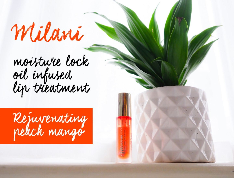 Milani moisture lock oil infused lip treatment   review