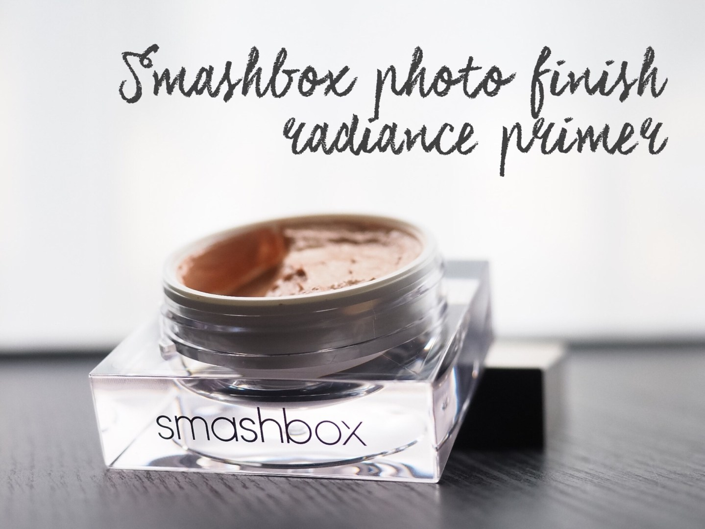 Smashbox photo finish radiance primer | review