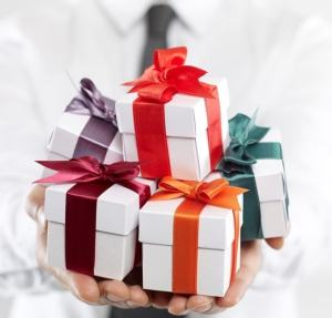 Business Gifts from The Days of Gifts