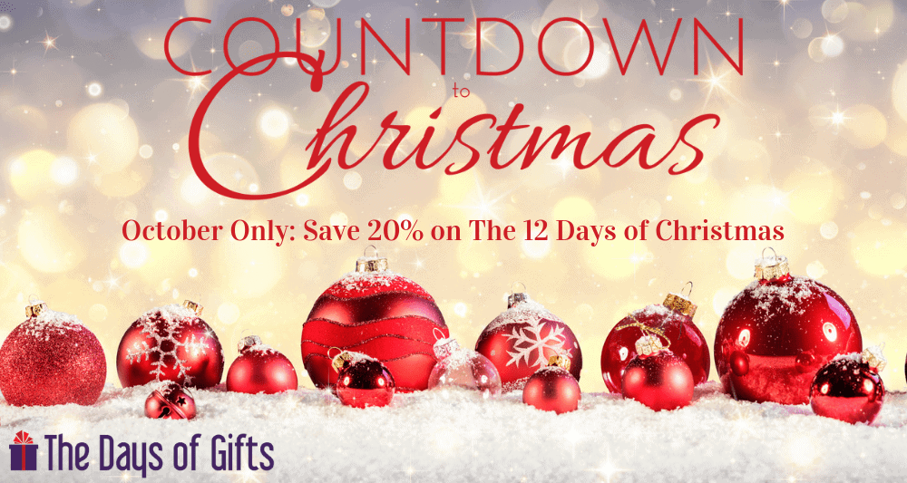 countdown to christmas sale save 20 on the 12 days of christmas in october the days of gifts multi day gifts for birthdays the 12 days of christmas - Countdown To Christmas