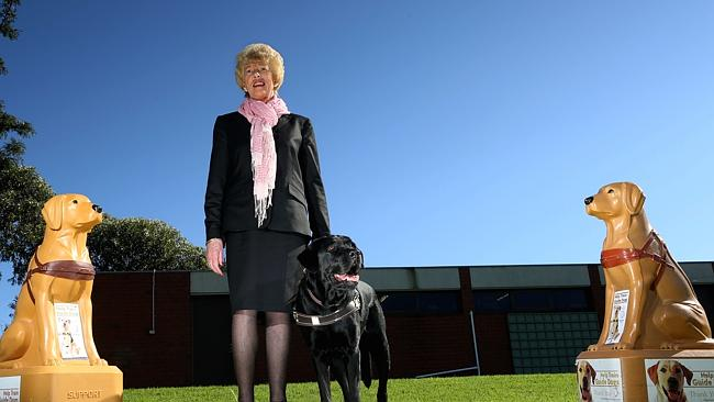 Mentone resident Joan Smith recognised for 20-year contribution to Guide Dogs ...