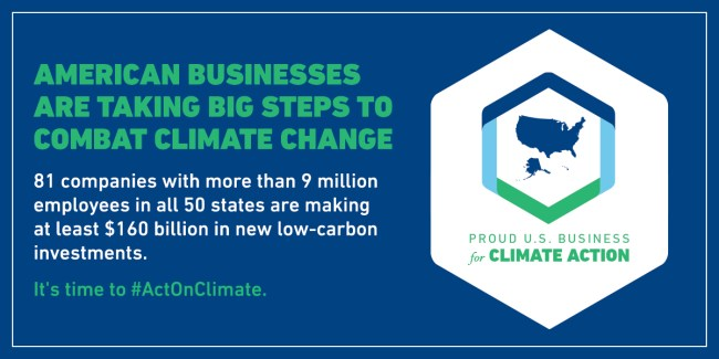 Cox Enterprises Signs American Business Act on Climate Pledge