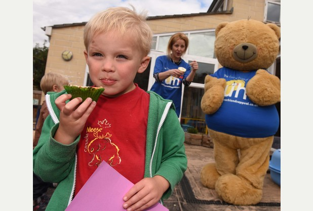 Bake a Bear Competition: Children at Apple Tree Day Nursery support the ...