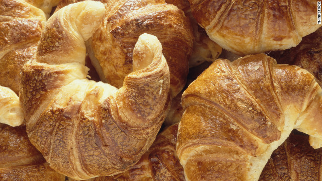 Ocean City Library celebrating National Croissant Day