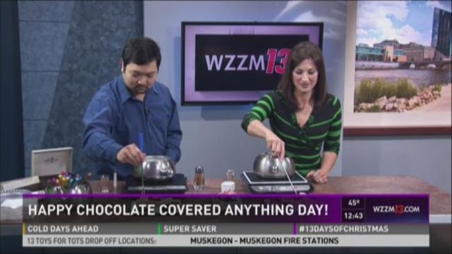 It's National Chocolate-Covered Anything Day