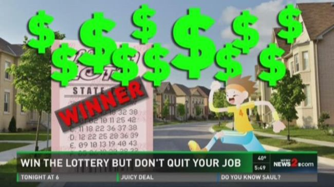 Win The Lottery? Buy Something Stupid But Don't Quit Job
