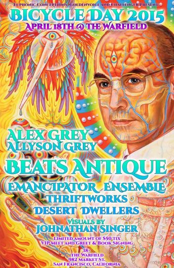 Beats Antique, Emancipator and More Set for Bicycle Day 2015