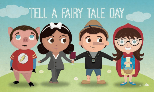 "Once Upon a TV: ""Tell A Fairy Tale Day"" Starring Our Favorite Characters"