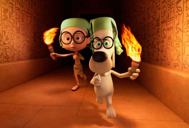 Kids To Do: Hop in the WABAC machine with Mr. Peabody and Sherman