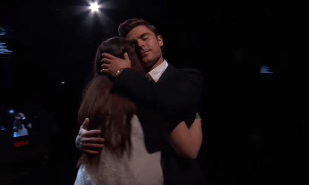 Watch: Zac Efron makes a fan's life by hugging her for 30 seconds for National ...
