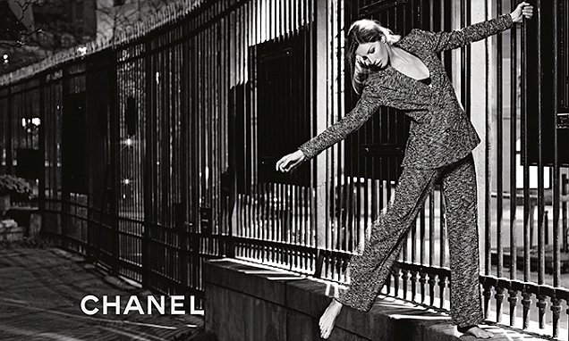 Gisele Bundchen goes barefoot in Paris for Chanel's relaxed new ad campaign