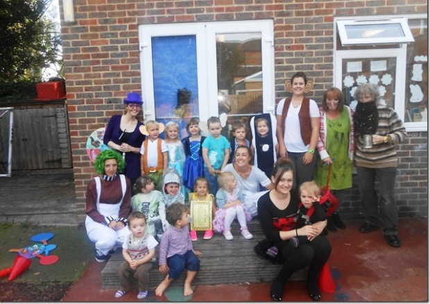 Roald Dahl day at Worthing nursery