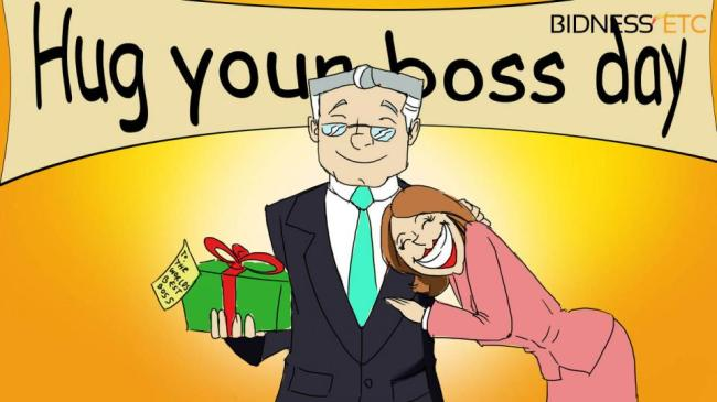 "5 Things You Can Give To Your Boss On ""Hug Your Boss Day"""