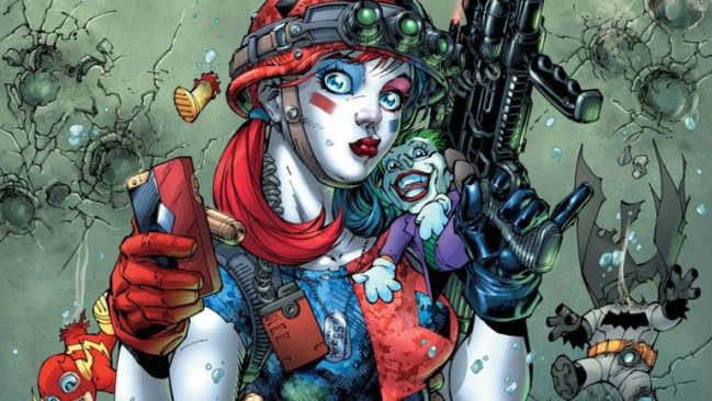 DC Plans 'Harley Quinn and the Suicide Squad' Comic Book