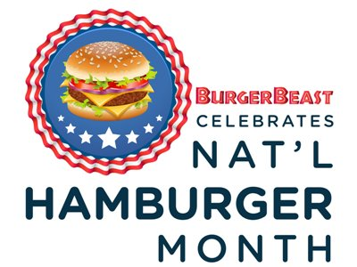 Top 5 burgers to celebrate National Hamburger Month