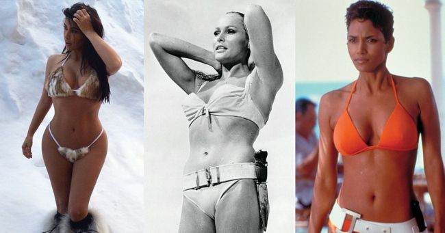 National Bikini Day: We look back at iconic celebs and today's bikini babes