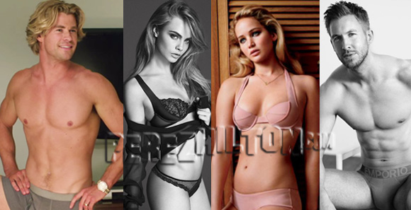 Happy National Underwear Day! Celebrate By Checking Out Dozens Of Celebs ...