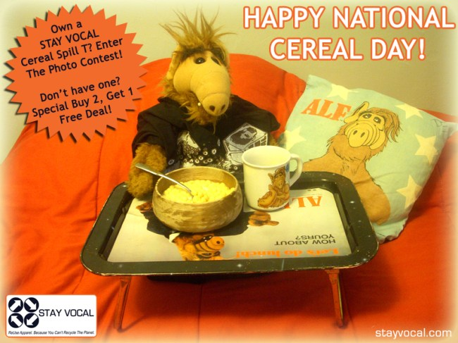 Celebrating National Cereal Day
