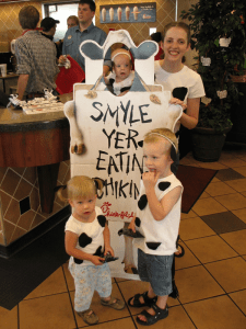 Southern Hills Chick-fil-A celebrates Cow Appreciation Day