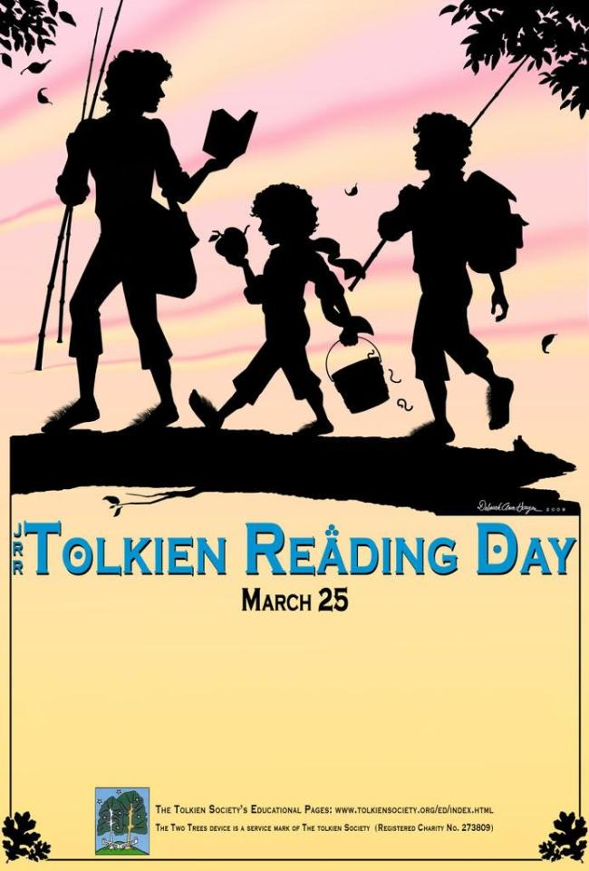 Today is Tolkien Reading Day