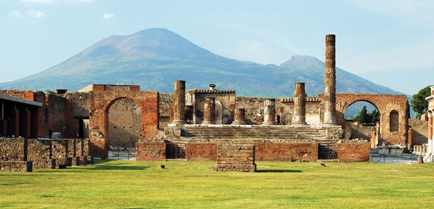 Pompeii, Italy: Turn ash to cash