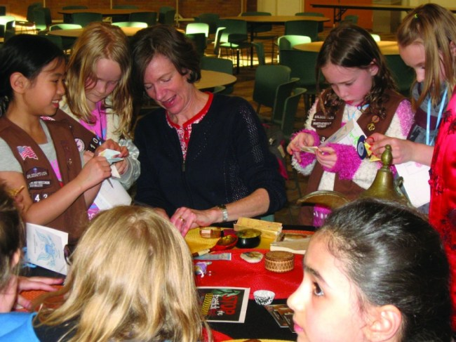 Eden Prairie Girl Scouts celebrate World Thinking Day